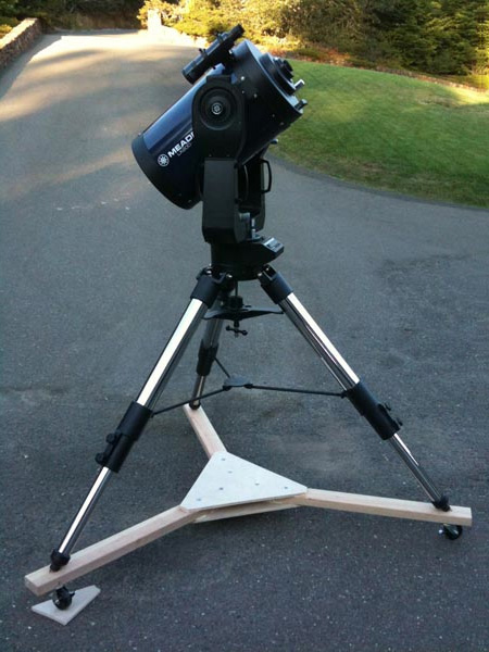 A Telescope Dolly