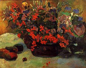 A Color Bouquet From Paul Gauguin