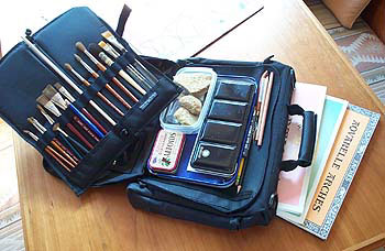 Handprint Plein Air Paint Kit